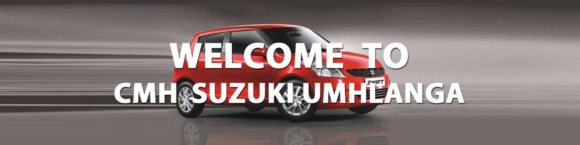 Welcome Banner Suzuki Umhlanga