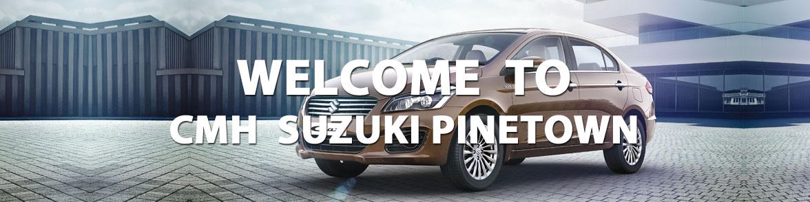 Welcome Banner Suzuki Pinetown