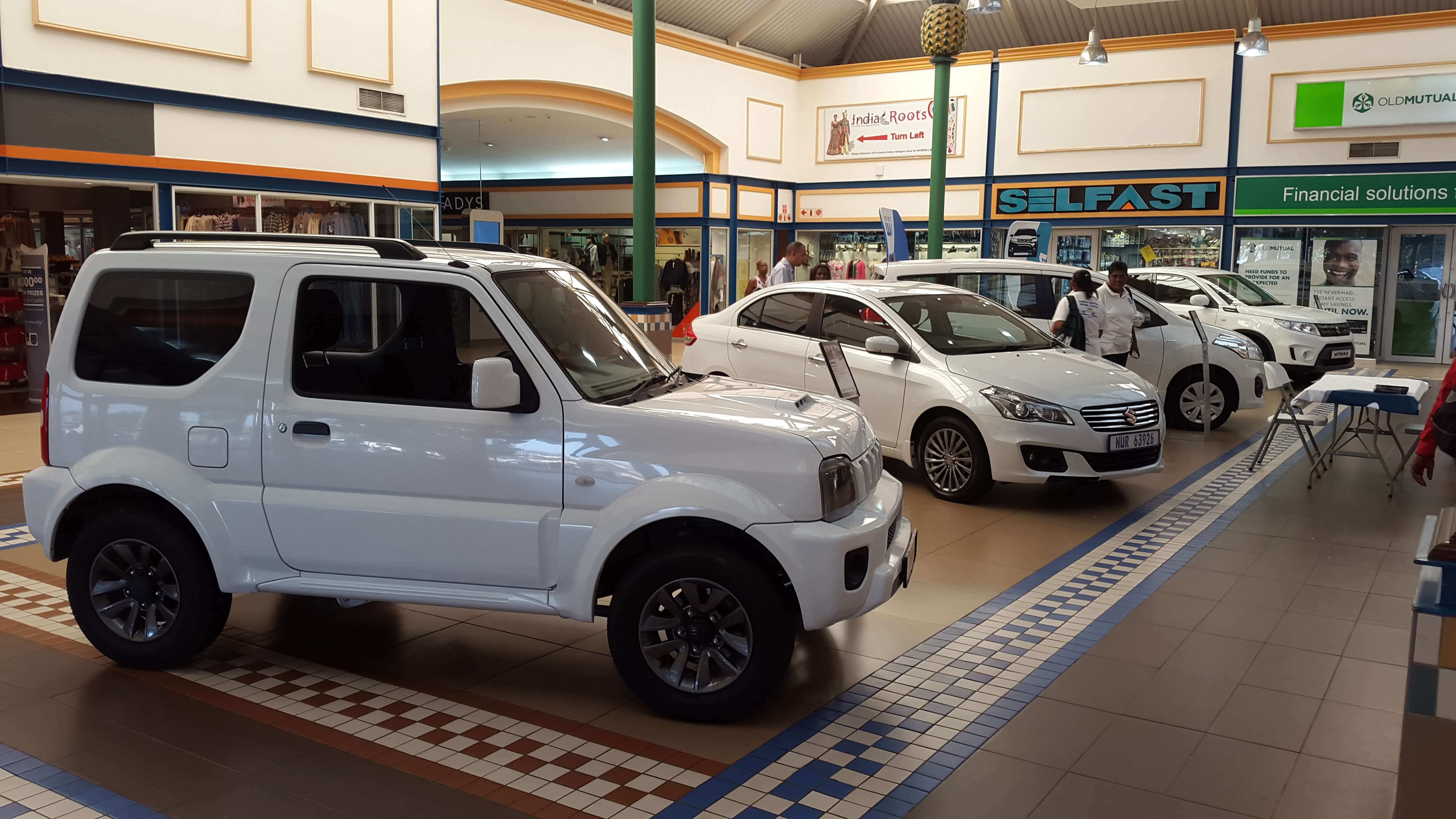 CMH Suzuki Phoenix Plaza Display