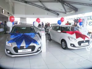 CMH Suzuki Umhlanga- ALL-NEW-Suzuki-Swift silver and white