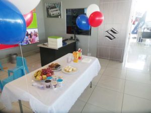 CMH Suzuki Umhlanga- Snacks for the VIPs