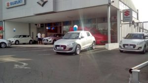 CMH Suzuki Pinetown- Suzuki Swift Launch Outside