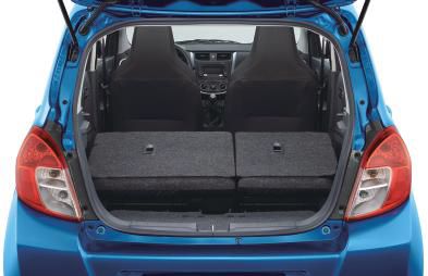 CMH Suzuki Pinetown- Luggage Compartment Seatback Folded