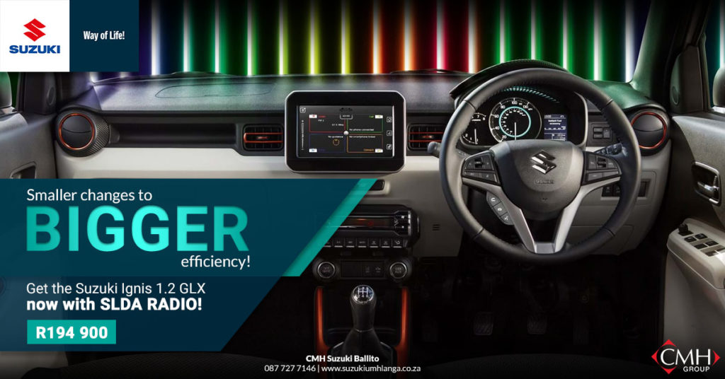 Suzuki's SLDA Radio comes to South Africa! | CMH Suzuki