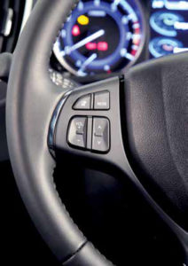 CMH Suzuki Pinetown- Balino Multi-function steering wheel