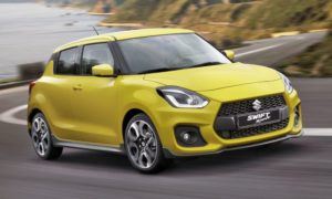 CMH Suzuki Umhlanga- Yellow Suzuki Swift Sport