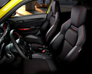 CMH Suzuki Umhlanga- Yellow Suzuki Swift Sport interior