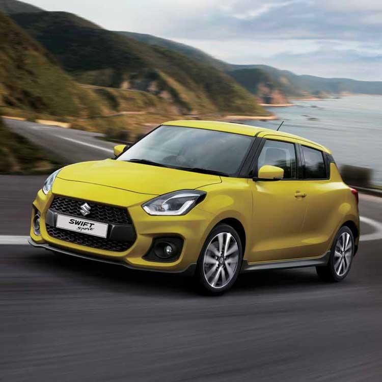 The New Suzuki Swift Sport