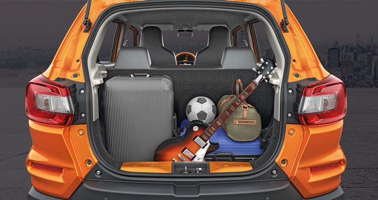 Suzuki S.Presso-Luggage-Space